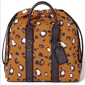 *NWT* Phillip Lim Leopard Print Drawstring Bag